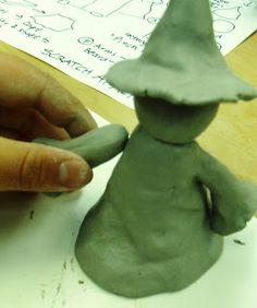 Deep Space Sparkle – Ceramic Wizard Art Lesson