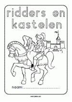 werkboekje Ridders en kastelen - voorkant