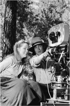 Melissa Sue Anderson and Micheal Landon from Little House on the Prairie...a childhood regular