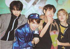 Suga, Jungkook, V, and Jimin