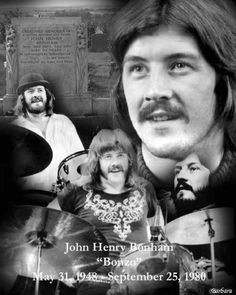 John Bonham...see the middle name...not a coincidence :)