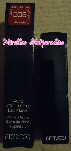 Der ausgepackte Art Couture Lipstick Classic in der Nuance 205 von Artdeco.