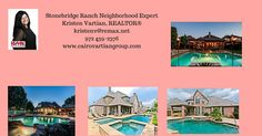 Homes for sale in Stonebridge Ranch with pools.