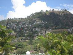 Coca Cola sign: Tegucigalpa, Honduras. 2009.
