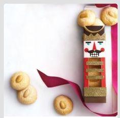 Nutcracker Cookie Box
