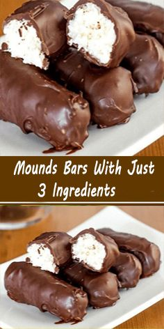 Easy Desserts, Delicious Desserts, Dessert Recipes, Fudge Recipes, Baking Recipes, Mounds Bar, Mounds Candy, Condensed Milk Recipes, Homemade Candies