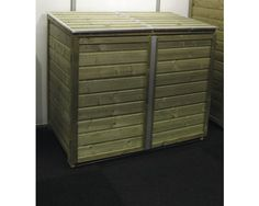 LUTRABOX Kast voor 2 containers 120/140 ltr, 125 x 65 x 108,5 cm