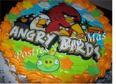 Torta de Angry Birds - Angry Birds Cake