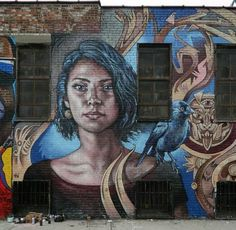 Street Art by Michel Velt, located in New York, USA