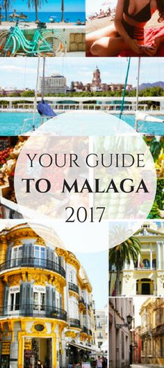 Malaga, spanish beach and city destination