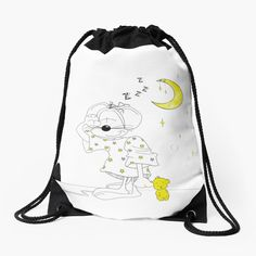 #backpack #drawstringbag #bag #kidsbag #giftforgirl #giftforher #accessories #womensaccessories #womanfashion #mouse #mice #sleepy