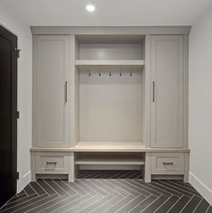 Elbow Park {council} Basement Mud Room by Veranda Estate Homes Inc.