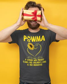 Sunflower Pawma A Woman Who Proudly Claims - Asphalt #firedepartment #firefighters #ems mom fashion, mom jeans, maturemilf mom, dried orange slices, yule decorations, scandinavian christmas