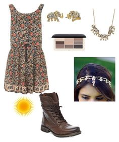 """""""Elegant Elephant❤️"""" by avagarvey ❤ liked on Polyvore featuring Topshop, Steve Madden, Kate Spade, Sparkling Sage and H&M"""