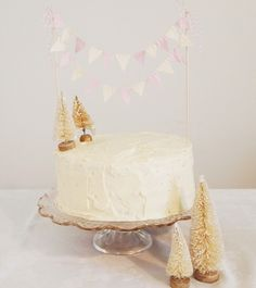 Pretty cake bunting.