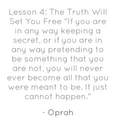 Quotes from Oprah... Oprah Quotes, Quotes To Live By, Free Quotes, Best Quotes, Awesome Quotes, Motivational Articles, Inspirational Quotes, Narcissistic Abuse Recovery, Happy Thoughts