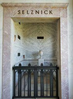 David O. Selznick, and family, Mausoleum. To Kill A Mockingbird, Funeral, Lawn, David, Home Decor, Decoration Home, Room Decor, Home Interior Design, Home Decoration