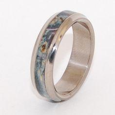 Minter + Richter | Unique Wedding Rings - Caspian on Sale - Size 5.5 at 5.6mm | Titanium Rings | Minter + Richter