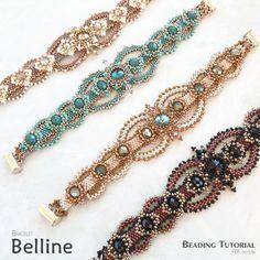 Beading pattern - Bracelet 'Belline' - Trinkets beading
