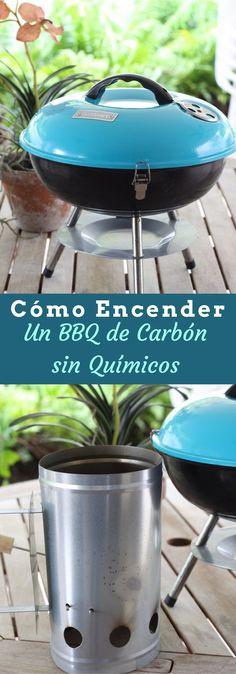 Cómo encender carbón para un BBQ sin químicos