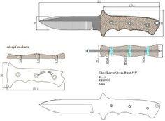 Чертежи ножей для изготовления. Часть 2 | LastDay Club image 20