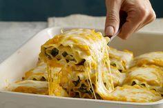 Find the recipe for Butternut Squash Lasagna Rolls and other butternut squash recipes at Epicurious.com