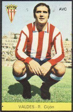 Juan Ramon Valdes of Sporting Gijon in 1970.