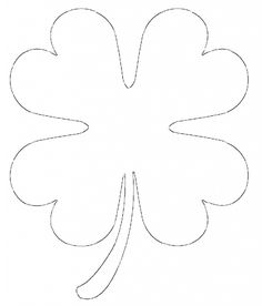 Free printable four leaf clover templates large small patterns free printable four leaf clover templates large small patterns to cut out pronofoot35fo Gallery