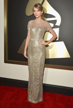 Taylor Swift in Gucci at the Grammy Awards