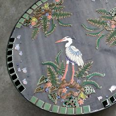 Working away on a custom order variation on our big Heron table - check out the new frogs!