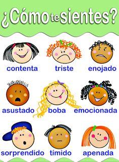 Me encanta escribir en español: ¿Cómo te sientes?