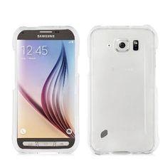 Samsung galaxy s6 Active/G890 transparant clear hard slim plastic phone case