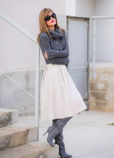 Ms Treinta - Fashion blogger - Blog de moda y tendencias by Alba.: MIDI