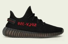 premium selection 84bae 8a8fa adidas Yeezy Boost 350 v2 Women s Black Red Kanye West Adidas Yeezy, Adidas  Yeezy 350