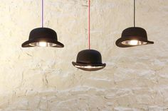 Charles Bowler Hat Light. La lampara perfecta para cuando me deje bigote