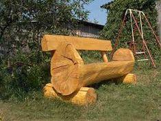 Image result for unique log furniture