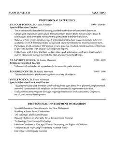 First Year Teacher Resume Examples Good Teachers Resume Format  Writing A Resume Is Not That Easy When .