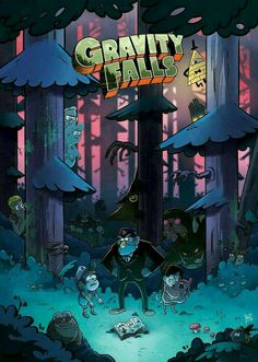 gravity animation An original art print of the Gravity Falls cast ( inches) on gloss Gravity Falls Dipper, Gravity Falls Cast, Gravity Falls Poster, Gravity Falls Bill Cipher, Gravity Falls Comics, Dipper E Mabel, Mabel Pines, Dipper Pines, Monster Falls