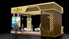Rixos Hotels ( Concept Exhibition Stall Design ) on Behance Exhibition Plan, Exhibition Stall Design, Exhibition Stands, Exhibit Design, Trade Show Design, Stand Design, Perspective Room, Hotel Floor Plan, Hotel Concept