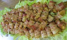 Gyrosové kuřecí kousky zabalené v anglické slanině Asparagus, Food And Drink, Vegetables, Fiestas, Studs, Vegetable Recipes, Veggies