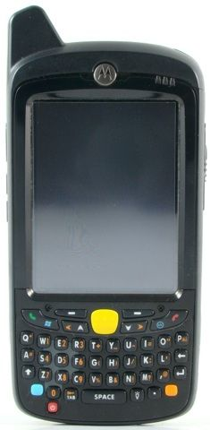 Motorola MC55 MC5574 SiRF III Integrated GPS 2D Dot Imager WM 6.1 Professional Camera & Numeric Keypad.   The smallest and lightest Motorola rugged EDA, the MC55 packs the power of a cell phone, two-way radio, bar code scanner, digital camera and handheld computer.  Available for purchase at www.go-rugged.com