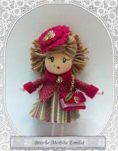 Broche muñeca | Ecomercadillo facilisimo.com, toda la artesanía y ecología a la venta