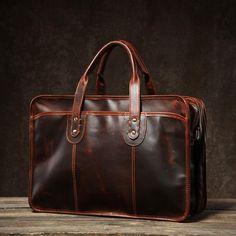 270bcbc6d227e Genuine Leather Mens Large Travel Bag Cool Messenger Bag Shoulder Bag –  iwalletsmen Cool Messenger Bags