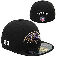 29dfe88aece Men s New Era Baltimore Ravens Customized Onfield 59Fifty Football  Structured Fitted Hat All Nfl Teams