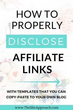 How To Properly Disclose Your Affiliate Links + Free Affiliate Disclaimer Template – Paid Social Media Jobs Marketing Program, Affiliate Marketing, Online Marketing, Social Media Marketing, Marketing Training, Marketing Videos, Marketing Guru, Marketing Digital, Make Money Blogging