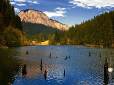 Red Lake by Ciprian Dumitrescu on Red lake in the summer, near Bicaz Canyon, Romania The Places Youll Go, Places To See, Red Lake, Visit Romania, The Beautiful Country, Medieval Castle, Bucharest, Historical Sites, Wonderful Places