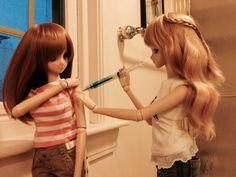 Mirai Suenaga and Kizuna Yumeno Smart Doll by GhostKarin