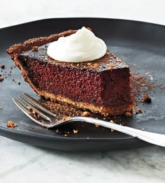 Purple Velvet Beet Tart #Beet #Dessert #GlutenFree