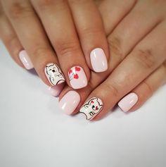 Cat's manicure Manicure, Nails, Beauty, Nail Bar, Finger Nails, Ongles, Polish, Manicures, Beauty Illustration