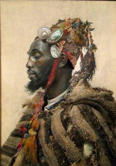 """José Tapiro y Baro, """"Moor in a Headdress,"""" ca. 1871-1913."""